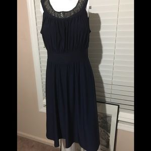 HAANI deep blue dress